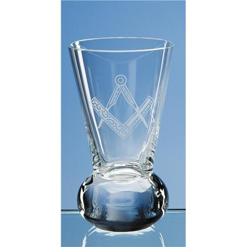 11cm Lead Crystal Firing Glass