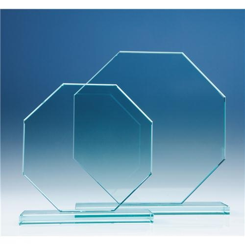 150 mm Octagon, 12 mm Jade Glass Award