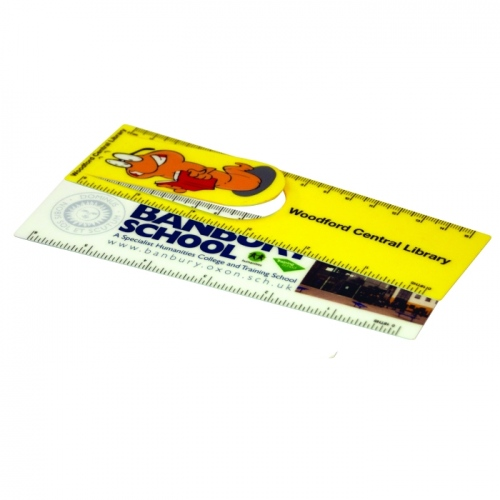 Bookmark - Laminated Plastic