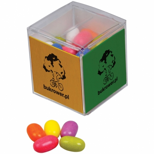 Jelly Sweets in a Cube Box