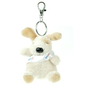 11 cm Keychain Gang - Dog with Sash