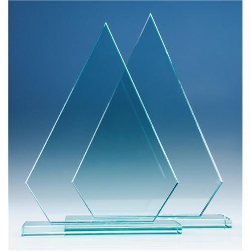 265mm Peak, 12 mm Jade Glass Award