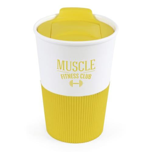 Rubber Based Take Out Mug