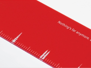 Promotional Rulers by Vodafone Effectively Advertise Company's Cheap Call Rates #CleverPromoGifts