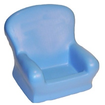 Chair Shaped Holder Stress Toy