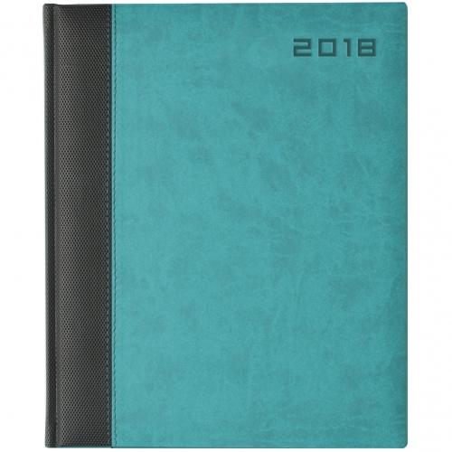 BiColour Weekly Quarto Desk Diary