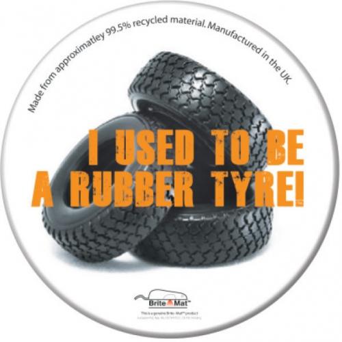 Round Tyre Coaster