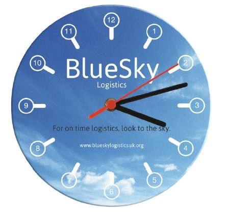 Brite Clock Round
