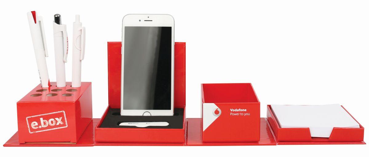 Smart Cube Foldable Desk Tidy Uk Corporate Gifts
