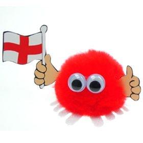 England Flag Handy Logo Bug