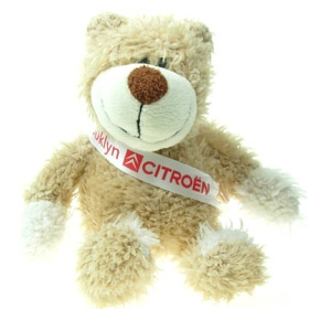 20 cm Wally Jointed Bear with Sash