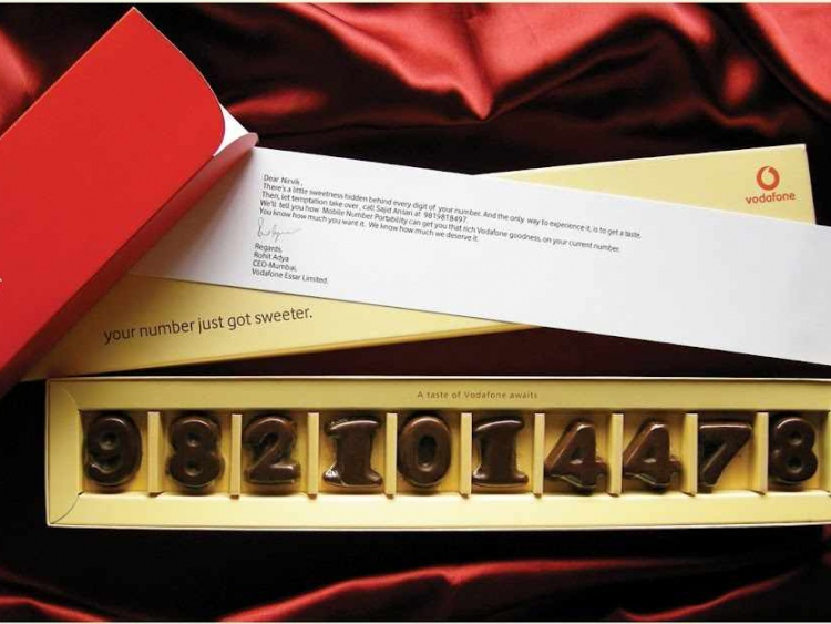 Tasty Chocolates Upped Vodafone's Numbers 56% #CleverPromoGifts