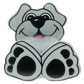 Fun Dog Logo Bug