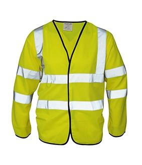 High Visibility Long Sleeved Coatlet