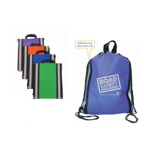 Reflecting Drawstring Bag