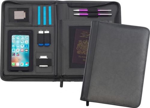 Goudhurst Oversized A5 Bonded Leather Tabletfolio