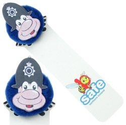 Police Logo Bug Bookmark