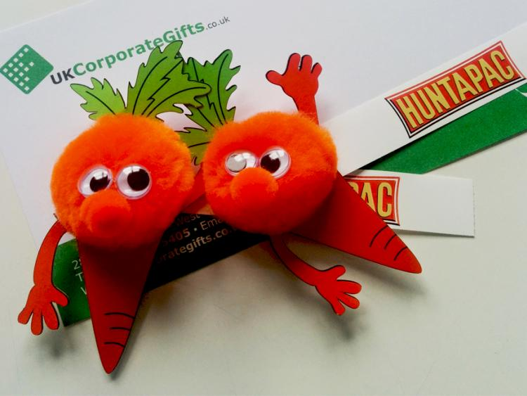 Huntapac Produce are Thrilled with Their Promotional Logo Bugs #ByUKCorpGifts
