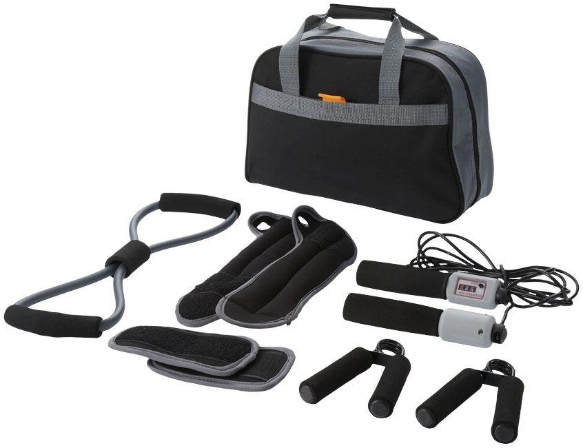 Go-Fit 9-Piece Fitness Kit