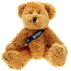 25 cm Sparkie Jointed Bear with Sash