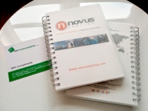 Promotional Notebooks a Success for Novus Sealing #ByUKCorpGifts