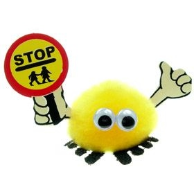 Warning Sign Handy Logo Bug