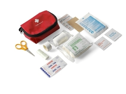 First Aid Kit With Nylon Pouch