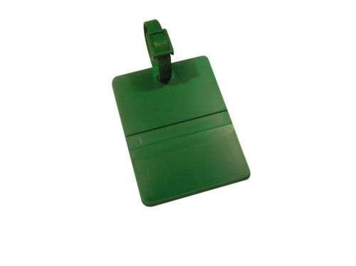 Rectangular Golf Bag Tag
