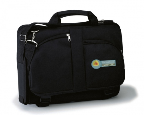 Curved Pocket Laptop Briefcase