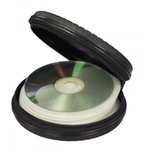 Wheel CD Holder