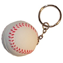 Baseball Keyring Stress Toy