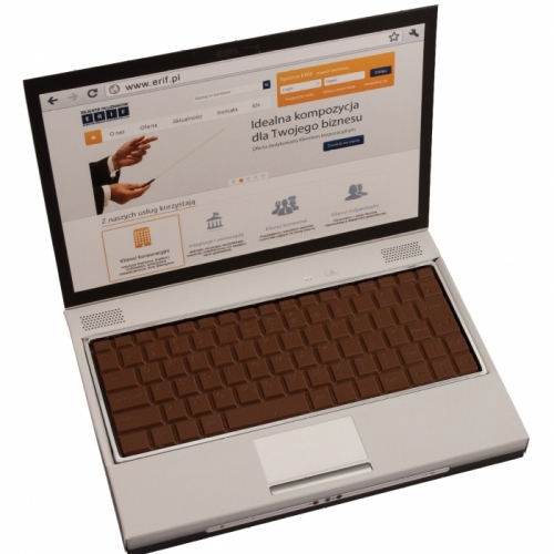 Milk Chocolate Laptop Keyboard