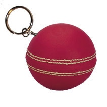 Cricket Ball Keyring Stress Toy
