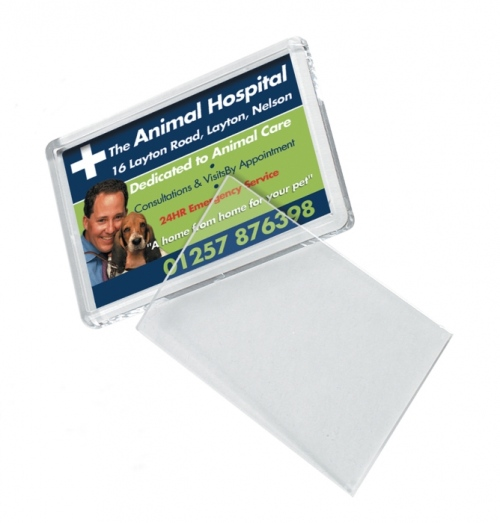 Clear Acrylic Insert Magnet - 70 x 45insert
