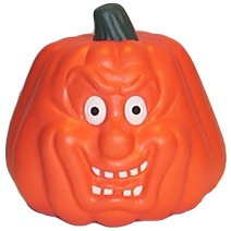 Pumpkin Shaped Stress Toy