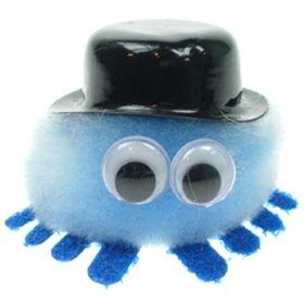 Bowler Hat Logo Bug