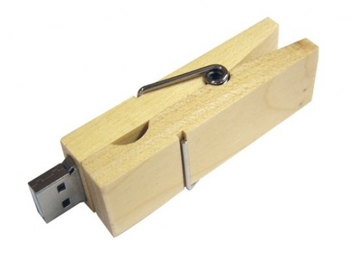 Clothes Peg USB Flash Drive