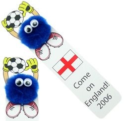 Goalkeeper Logo Bug Bookmark