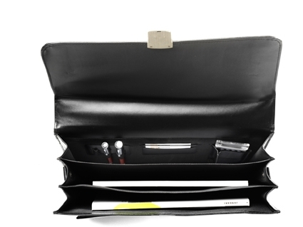 Bonded Leather Briefcase