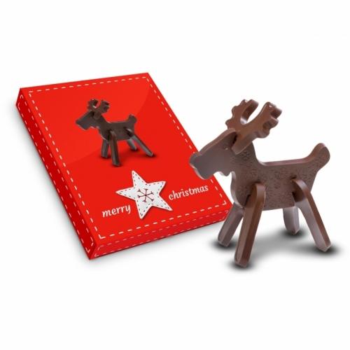3D Reindeer Chocolate Puzzle