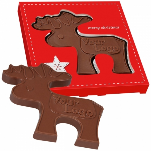 Chocolate Reindeer in a Box