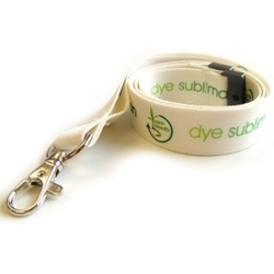 Recycled PET Lanyard with Dye Sublimation Print