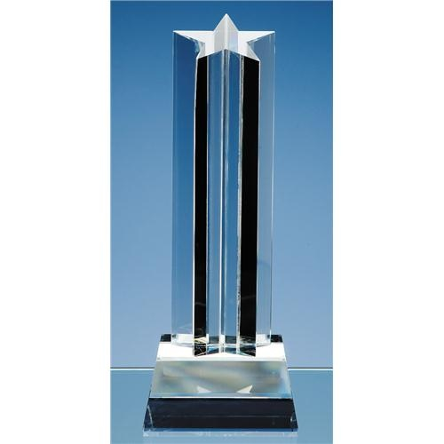 24cm Optic Mounted Star Column Award