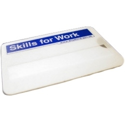Scratch Resistant PVC Faced Window Badge