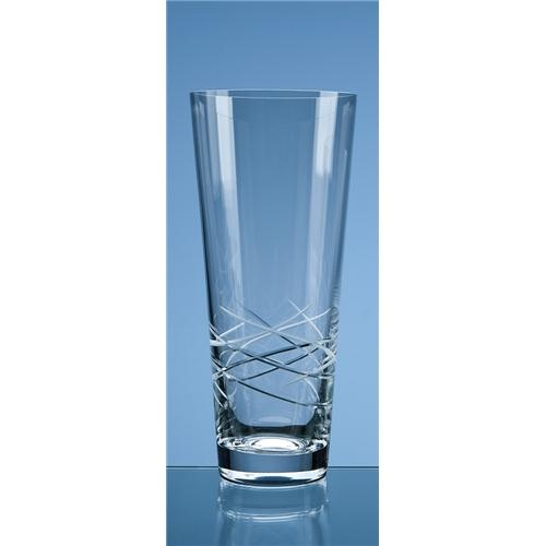 30cm Tiesto Cut Out Conical Vase