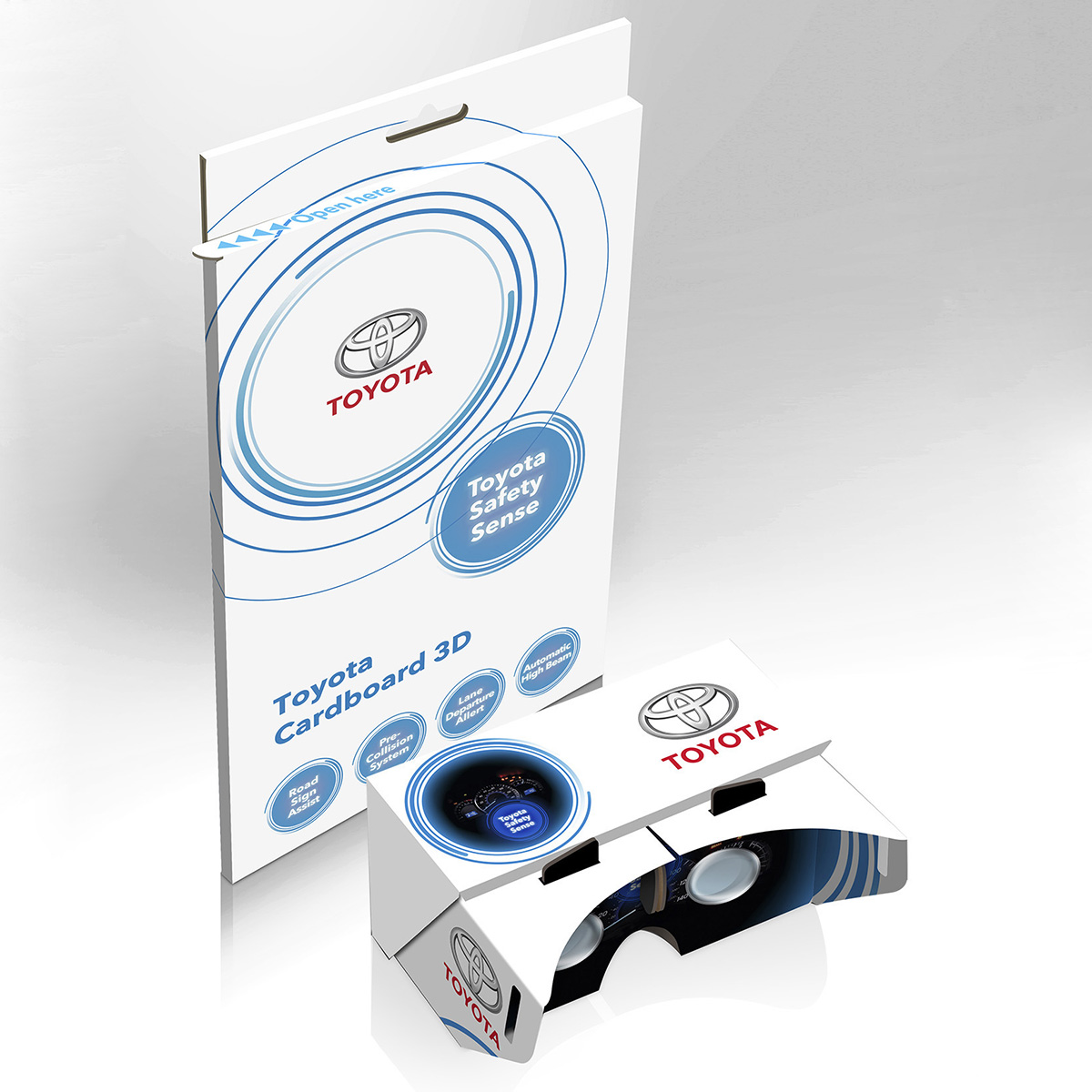 Promotional Virtual Reality Glasses