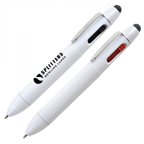 Twin Colour Ball Pen with Stylus