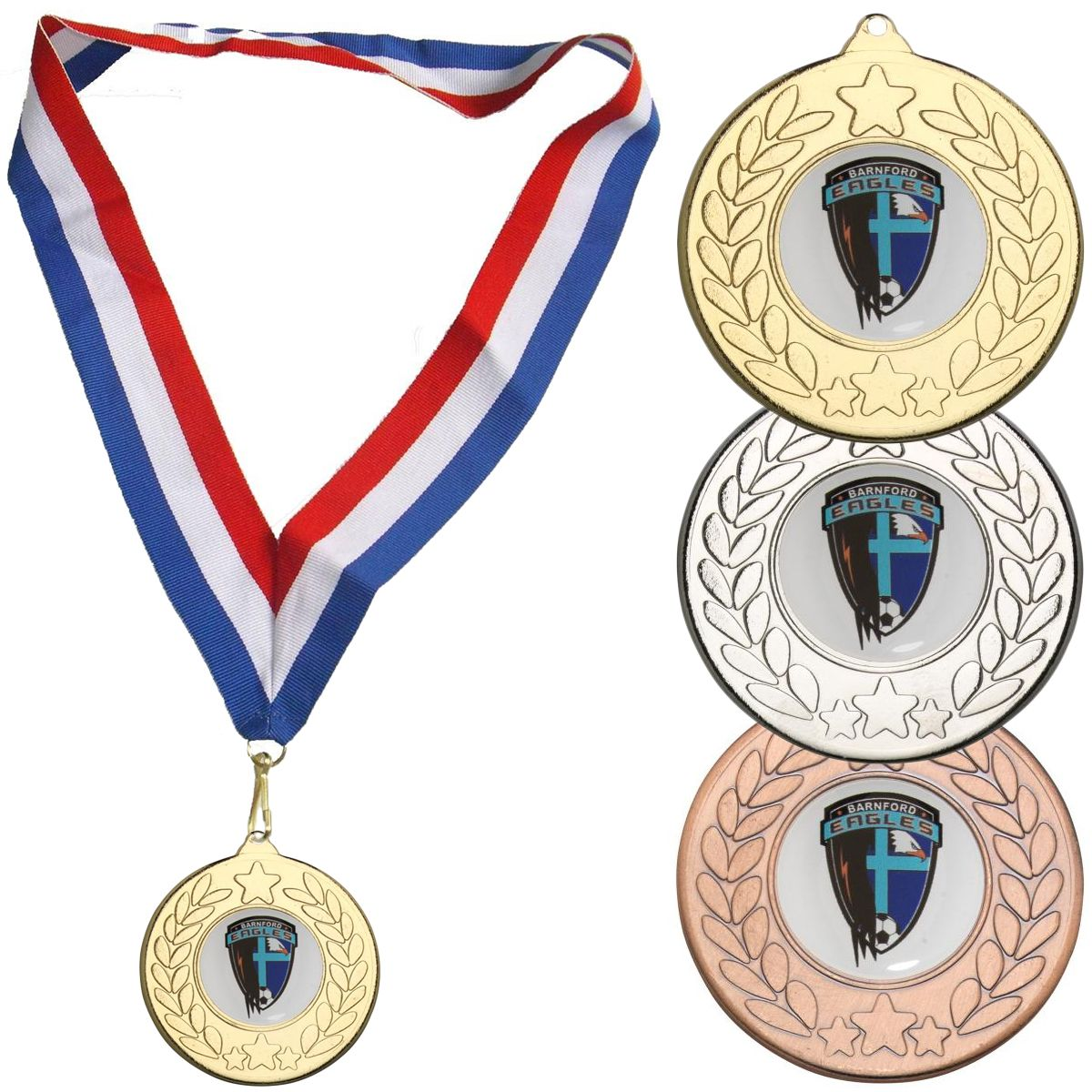 Medal with Wreath Design - Modern