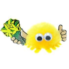 Daffodils Handy Logo Bug