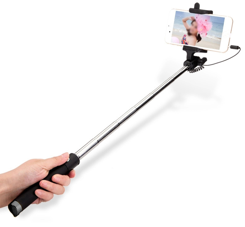 selfie stick wire luxe uk corporate gifts. Black Bedroom Furniture Sets. Home Design Ideas